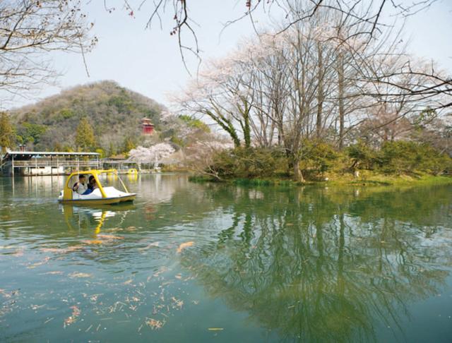 一乃館ボート池