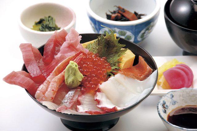ジョイハウス海鮮丼